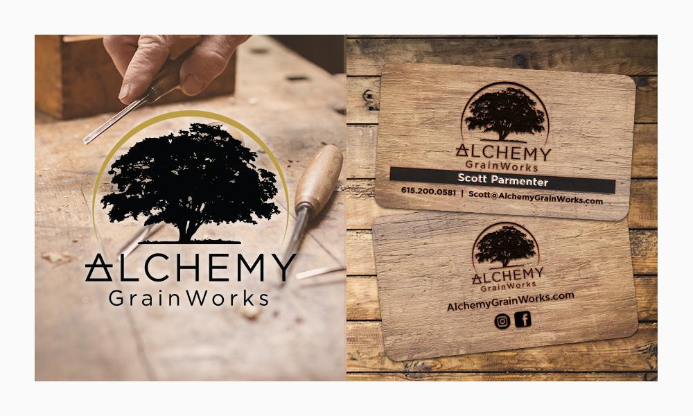 Alchemy Grainworks Graphic Design